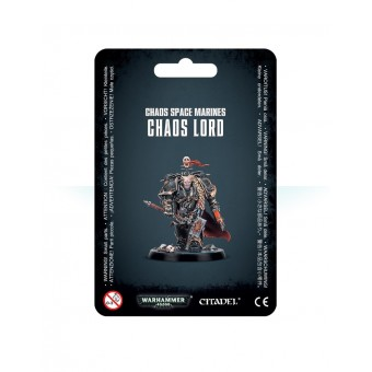 Chaos Space Marines Chaos Lord / Лорд Хаоса Космодесанта Хаоса