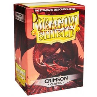 Протекторы Dragon Shield (66 х 91 мм., 100 шт.): crimson / кровавые матовые