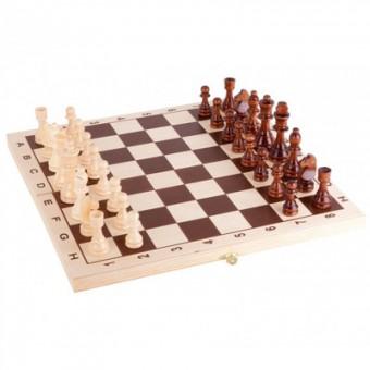 настольная игра Шахматы лакированные 290х145х38