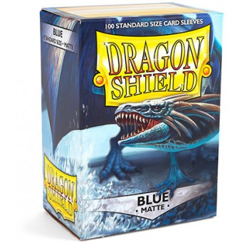 Протекторы Dragon Shield (66 х 91 мм., 100 шт.): Blue / Синие матовые