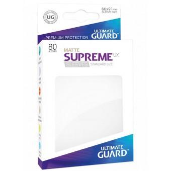 Протекторы Ultimate Guard: UX Белый (матовые, 66 х 91 мм., 80 шт.)