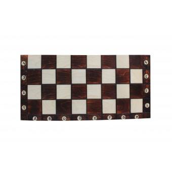 настольная игра Шахматы, Шашки, Нарды с лакированной доской (большие, 50х25х5 см.)