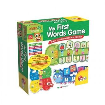 LISCIANI CAROTINA PRESCHOOL Игра Обучающая Мой Первый Словарь / My First Words Game (на английском)