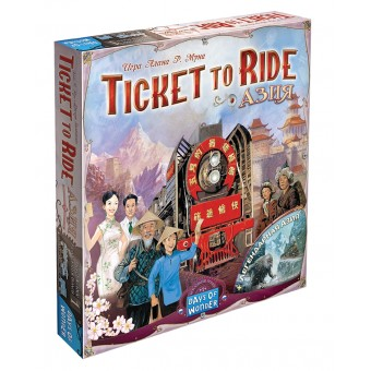настольная игра Билет на Поезд: Азия / Ticket to Ride: Asia