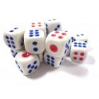 Кубик D6 для покера и нард (12 мм.)