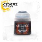 Баночка с краской Base: Abaddon Black / Черный Аббадон (12 мл.)