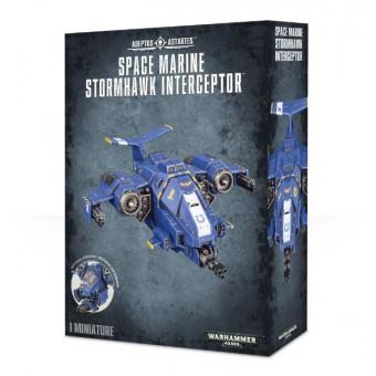 Space Marine Stormhawk Interceptor / Перехватчик Космодесантников Грозовой Ястреб