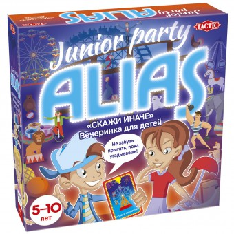 настольная игра Элиас (Скажи иначе) для детей Вечеринка / ALIAS Junior Party