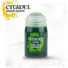 Баночка с проливкой: Зеленый Биль-Тан / Shade: Biel-Tan Green (24 мл.)