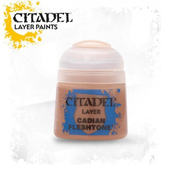 Баночка с краской Layer: Cadian Fleshtone / Кадианский оттенок (12 мл.)