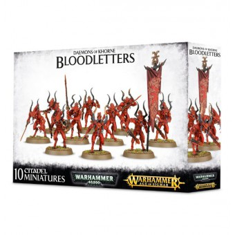 Daemons of Khorne Bloodletters / Кровотворцы Демонов Кхорна
