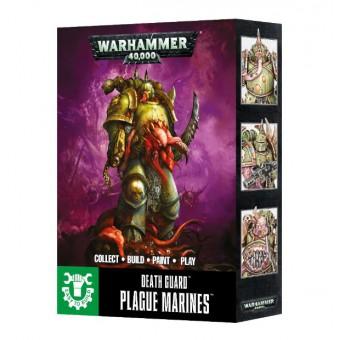 Easy To Build: Death Guard Plague Marines / Чумные десантники