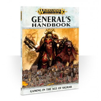 Книга Age of Sigmar: General's Handbook / Общий справочник  по Эпохе Сигмара (на английском языке)