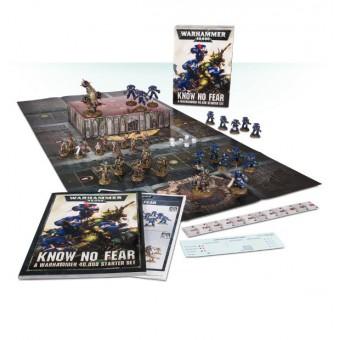 Know No Fear: A Warhammer 40.000 Starter Set / Стартовый набор Не ведая страха (на русском языке)