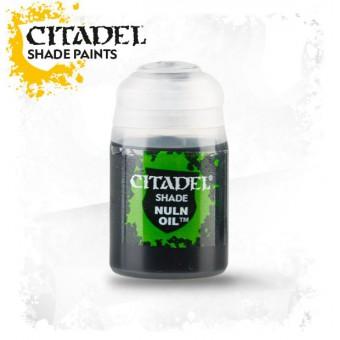 Баночка с проливкой Shade: Nuln Oil / Нульнское Масло (24 мл.)