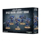 Space Marine Assault Squad / Штурмовой отряд Космодесанта