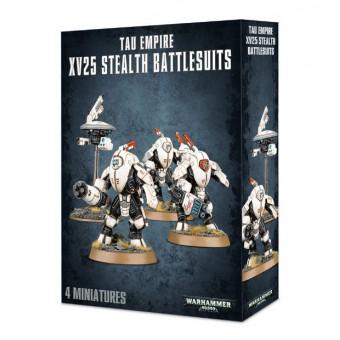 Tau Empire XV25 Stealth Battlesuits / XV25 Боевые Стелокостюмы Империи Тау