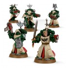 Dark Angels Veteran Space Marines / Космодесантники-ветераны из Темных Ангелов