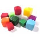 Кубик D6 Пустой, в ассортименте