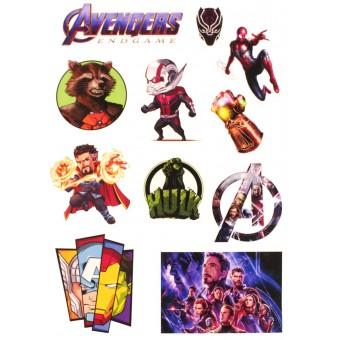 стикеры Мстители / Avengers (лист А5)