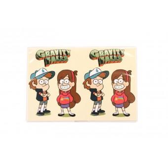 Обложка на паспорт Гравити Фолз (Диппер и Мейбл) / Gravity Falls