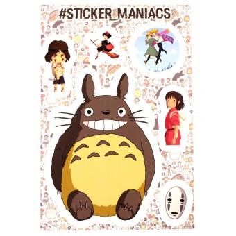 стикеры SM Аниме / Anime (версия 2, лист А5)