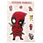 стикеры SM Марвел / Marvel (лист А5)