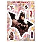 стикеры SM Вселенная DC (лист А5)