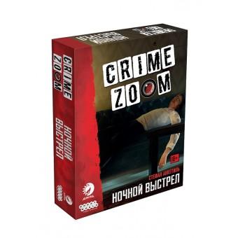 настольная игра Crime Zoom. Ночной выстрел