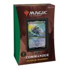 MTG. 2021. Стриксхейвен: Школа Магов / Strixhaven: School of Mages. Commander. Колода Quandrix на английском языке
