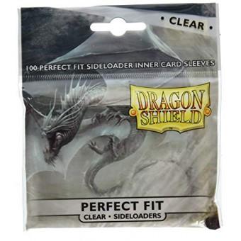 Протекторы Dragon Shield (63 x 88 мм, Perfect Fit Sideloaders, профиты, 100 штук)