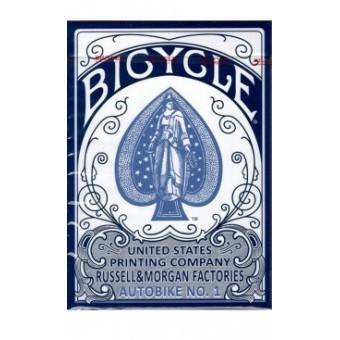 карты для покера Bicycle AutoBike No.1 (синие)
