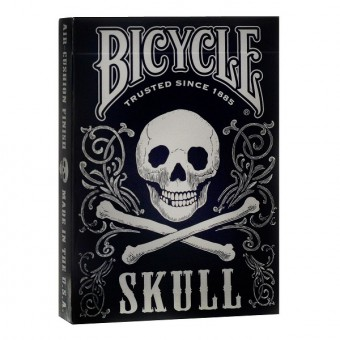карты для покера Bicycle Череп и кости
