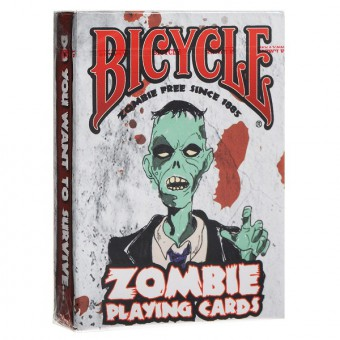 карты для покера Bicycle Zombies