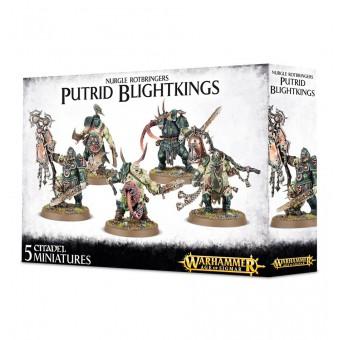 Nurgle Rotbringers Putrid Blightkings / Несущие Гниль Нургла: Тленотворные Короли Порчи