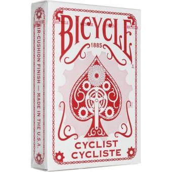 карты для покера Bicycle Cyclist (красные)