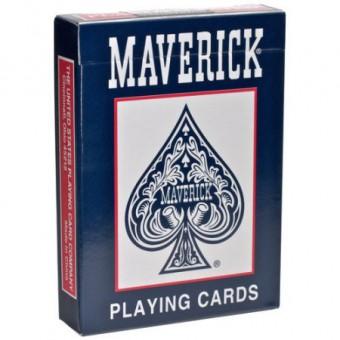 карты для покера Maverick. Стандартный индекс (синие)