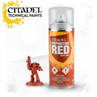 Mephiston Red Spray / Спрей-Грунтовка Красный Мефистон