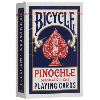 карты игральные Bicycle Pinochle Poker-size Стандартный индекс (В ассортименте)