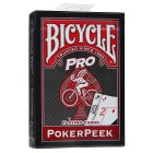 карты для покера Bicycle Pro Poker Peek (красные)