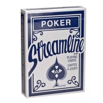 карты для покера Streamline стандартный индекс (синие)