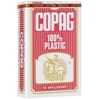 карты для покера Copag (бриджевый размер, красные)