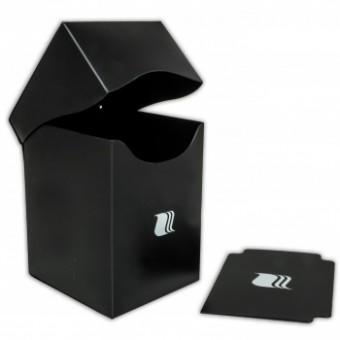 Коробочка BlackFire (пластиковая, на 100+ карт): черная
