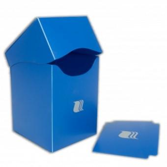 Коробочка BlackFire (пластиковая, на 100+ карт): синяя