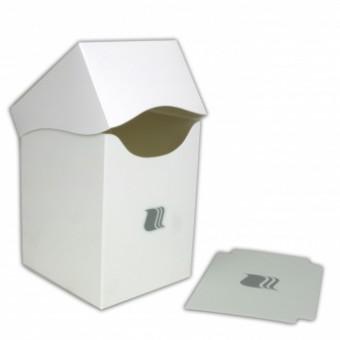 Коробочка BlackFire (пластиковая, на 100+ карт): белая
