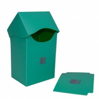 Коробочка BlackFire (пластиковая, на 80+ карт): светло-зеленая
