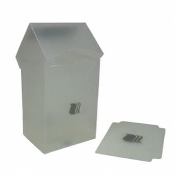 Коробочка BlackFire (пластиковая, на 80+ карт): прозрачная