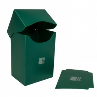 Коробочка BlackFire (пластиковая, на 80+ карт): зеленая