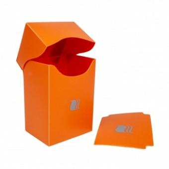 Коробочка BlackFire (пластиковая, на 80+ карт): оранжевая