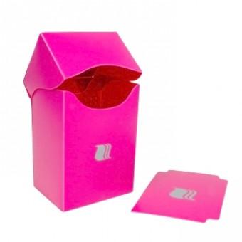 Коробочка BlackFire (пластиковая, на 80+ карт): розовая